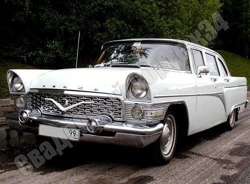 """ГАЗ-13 """"Чайка"""". 4 чел от 3500 руб. - фото 11855854 Компания проката авто """"Кортеж 34"""""""