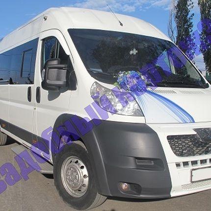 Аренда автобуса Peugeot Boxer, цена за 1 час