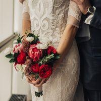 Букет невесты Натальи. Фотограф: Слава Павлов ()