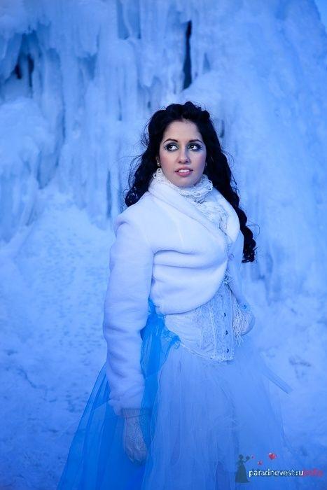 Фото 69509 в коллекции Зимний сказка или Парад невест в феврале - Стилист свадебного образа Летуновская Ольга
