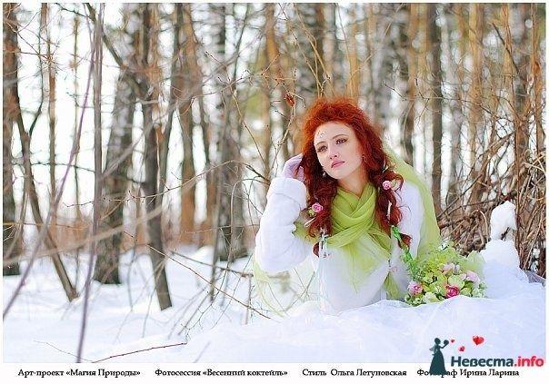 Фото 83843 в коллекции Арт-проект Ирины Лариной - Стилист свадебного образа Летуновская Ольга