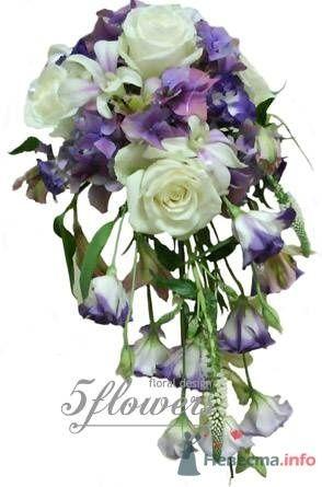"""Фото 35180 в коллекции букет невесты - Салон """"5 цветов"""""""