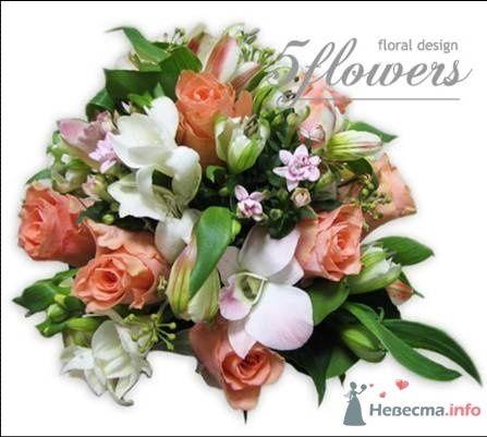 """Фото 35187 в коллекции букет невесты - Салон """"5 цветов"""""""