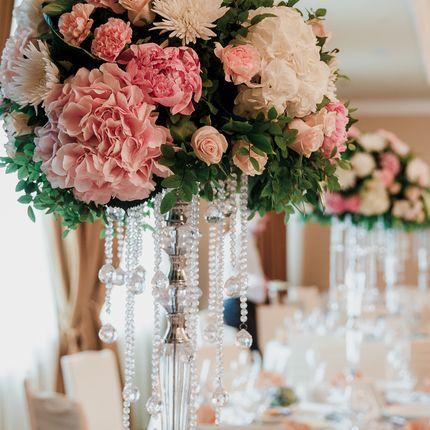 Цветочная композиция на стол гостей, цена за 1 шт
