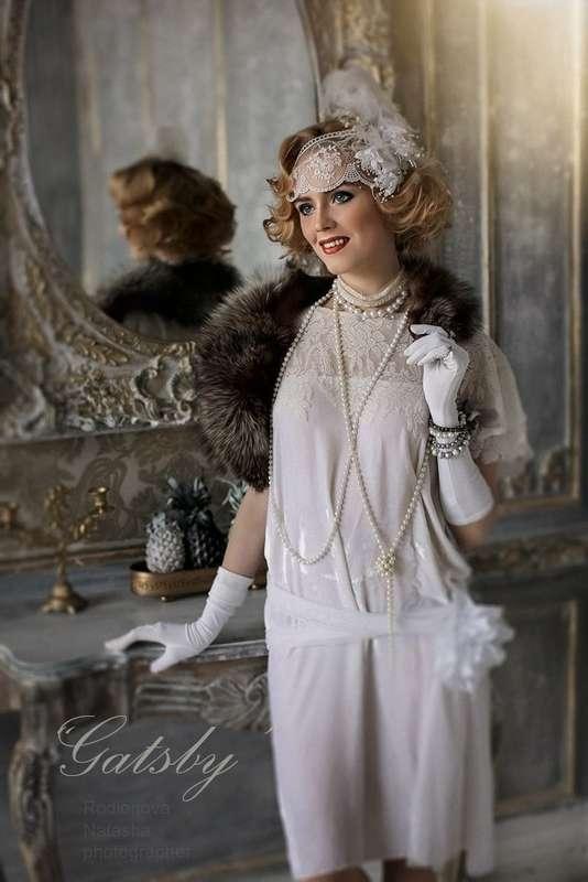 """Образ ретро, в стиле фильма """"Великий Гэтсби"""", все в наличии - аренда на сутки  1500 руб, без залога, размер 40 до 52 #fashion, #аренда, #платьев, #дизайнеры - фото 15250330 Модельер Ksenia Dekova"""