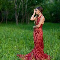 """Платье """"Красное кружево"""", размер 40-50, на шнуровке. Аренда 1000 р. в день 1 час - 350 руб. (минимум 2 часа) Платье ручной работы!"""