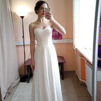 Свадебное платье: Дарина Ткань: потайное кружево на корсете, евросетка. Цвет: молоко Цена: 18500 Это платье на сайте:
