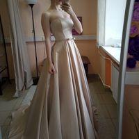 Свадебное платье: Софья Платье+болеро Ткань:  атлас, кружево Цвет: капучино/молоко Цена: 19600 Это платье на сайте: