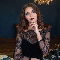 Прическа и макияж Чуприкова Евгения