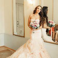 """Невеста Анна платье """"Царство розы"""""""