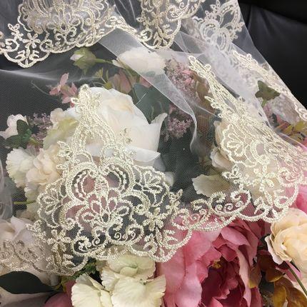 Свадебная фата Жаннет