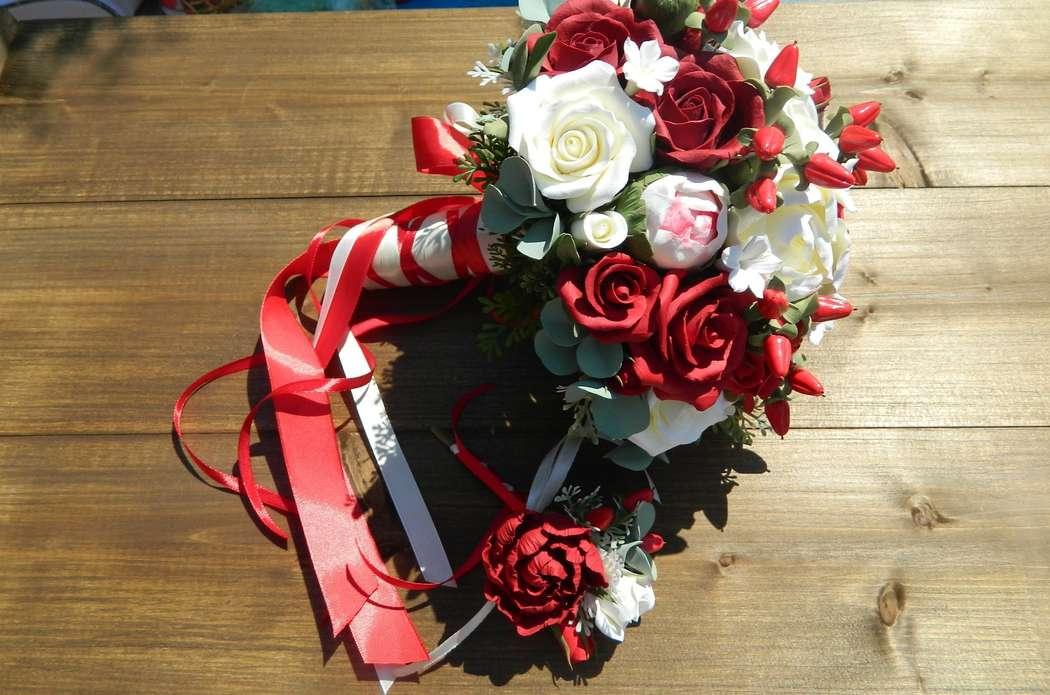 Фото 15312084 в коллекции Букет из полимерной глины - Свадебный декор от Ольги Луниной