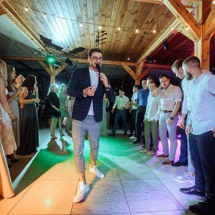 Проведение свадьбы + DJ (свет и звук) + саксофон