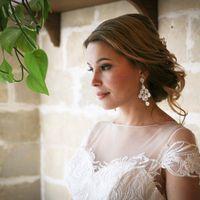 Невеста Настенька Макияж и прическа я