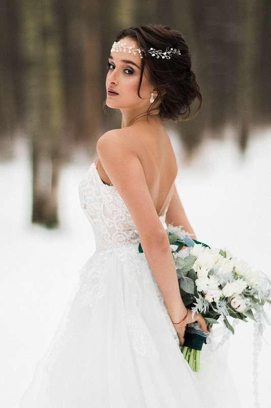 Фотограф:  Невеста и жених:   Образ невесты: я  Платье:  Флористика:  - фото 16551714 Стилист Екатерина Харченко