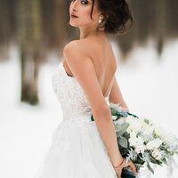 Фотограф:  Невеста и жених:   Образ невесты: я  Платье:  Флористика: