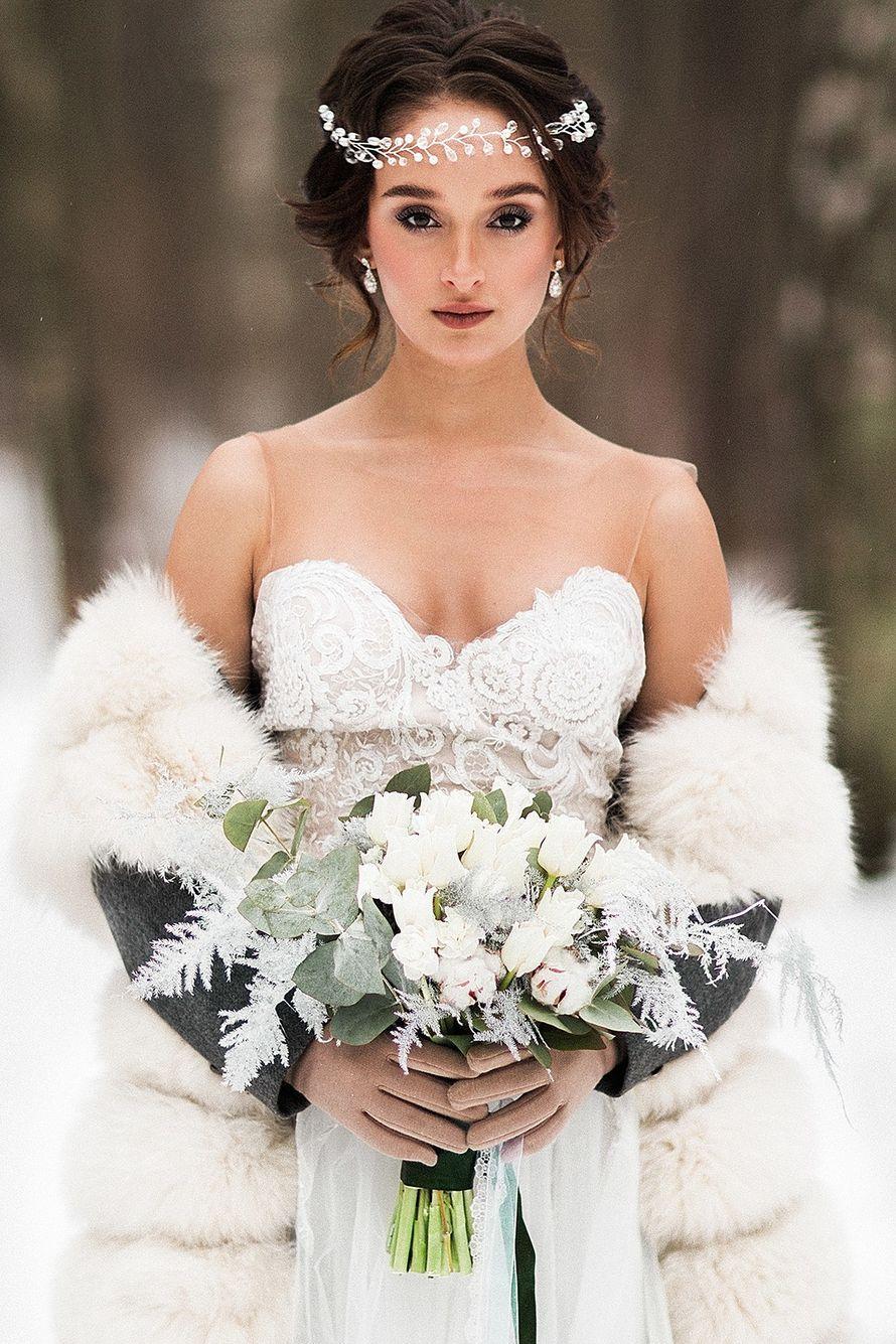 Фотограф:  Невеста и жених:   Образ невесты: я  Платье:  Флористика:  - фото 16551724 Стилист Екатерина Харченко
