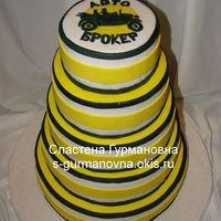 Корпоративный торт, 14,5кг, внутри рафаэлло