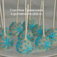 Новогодние кейк-попсы