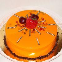 """Евро-торт в цветной шоколадной глазури, 1,8кг, внутри """"евразия"""""""
