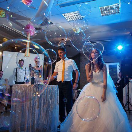 Свадебное шоу мыльных пузырей Пузырляндия