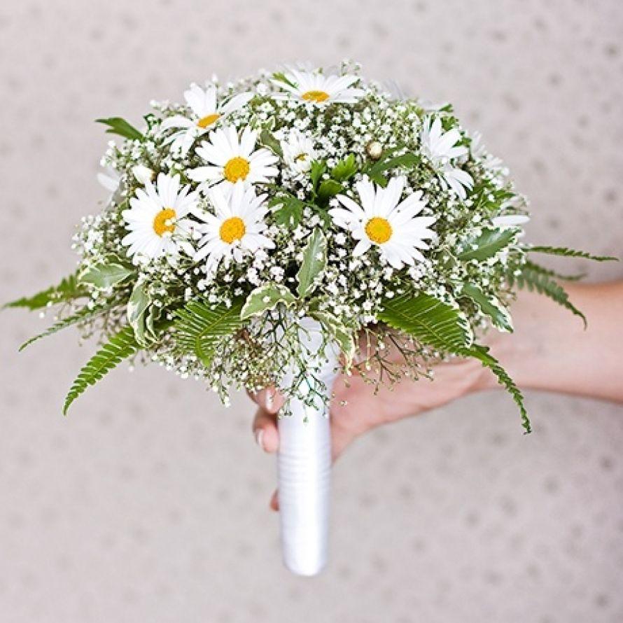 Составить своими руками букет из полевых цветов