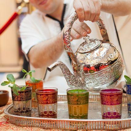 Марокканская чайная церемония на свадьбу