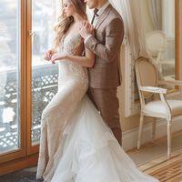Свадьба в Питере. Молодожены