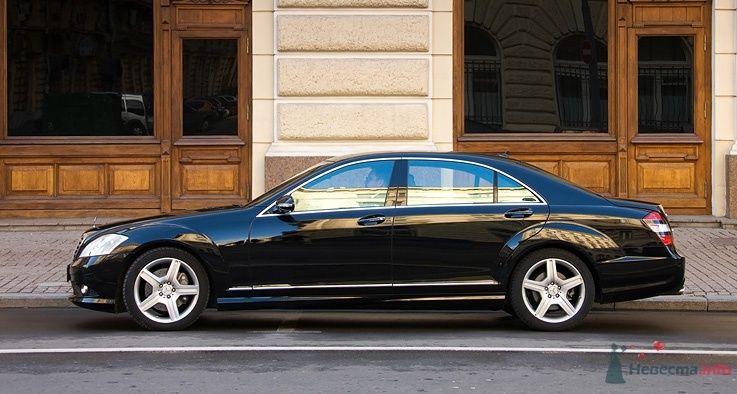 Mercedes S221 Black LONG - фото 35674 Black and White Cars - аренда лимузинов