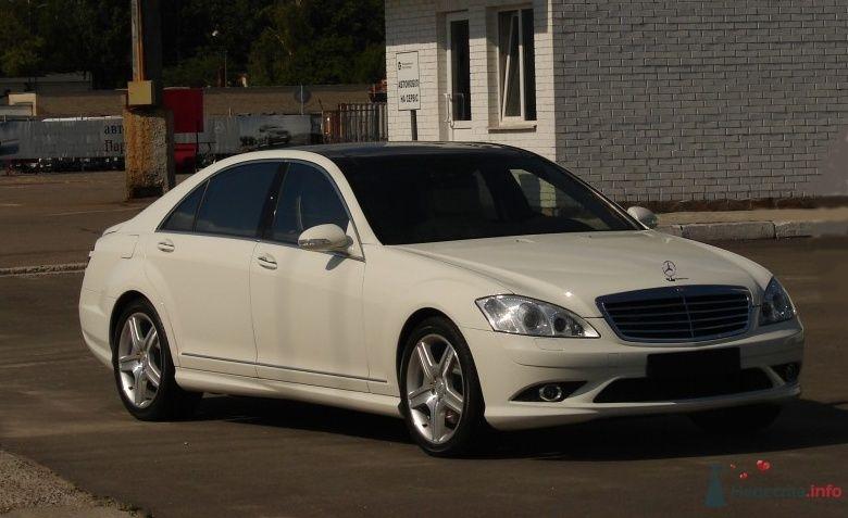 Mercedes S221 White LONG - фото 35675 Black and White Cars - аренда лимузинов