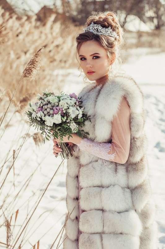 Даже зимой невесты прекрасны.... Фотограф Анастасия Андрешкова - фото 14686460 Фотограф Андрешкова Анастасия