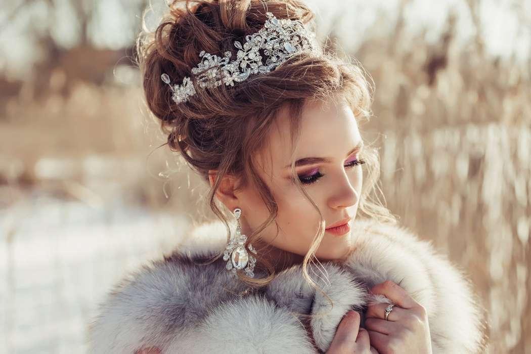 Даже зимой невесты прекрасны.... Фотограф Анастасия Андрешкова - фото 14686464 Фотограф Андрешкова Анастасия