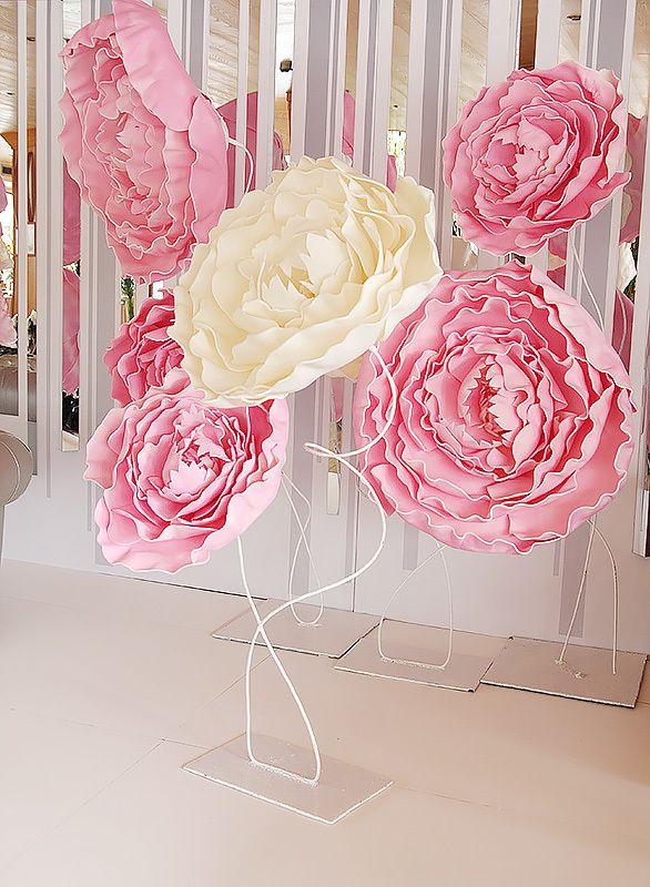 Большие пионы для декора свадьбы 0f04d5a1153a8