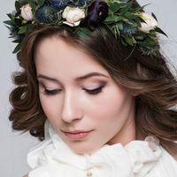 Веночек-ободок для невесты.  Стиль @sashastyle.ru  Фото: @thandra_kh  Платье: @siallow_dress@anastasia_siallow  Флористика и дизайн:@trostinka_tatiana