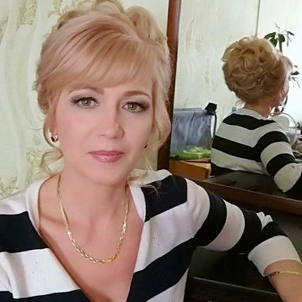 Причёска и макияж на праздничное мероприятие