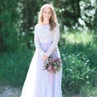 """Свадебное платье """"Лиловый туман"""""""