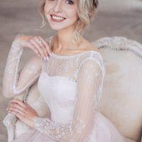 Платье Пудра цвет - молоко р-р 38-54 стоимость 40500 руб