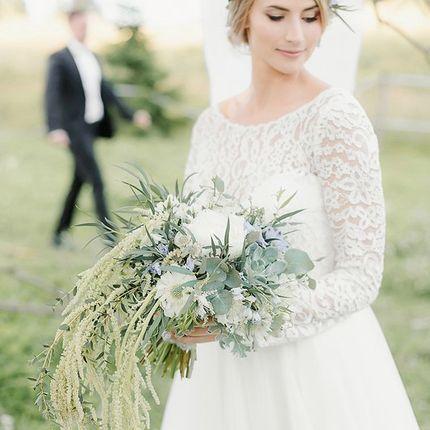 """Свадебное платье """"Роскошный букет"""""""