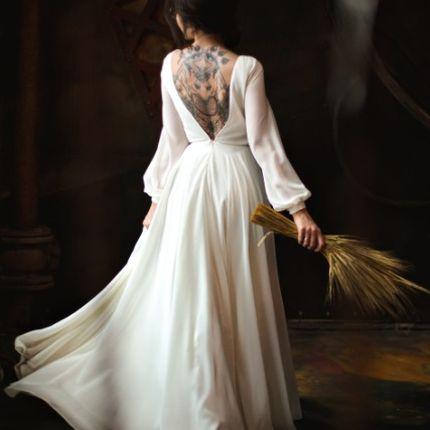 """Свадебное платье """"Альпийские горы"""""""