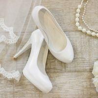 Туфли: 873-3362 Цена: 4 500 руб.  Материал: Искусственная кожа Цвет: Белый Высота каблука: 11 см Размер: 37, 38