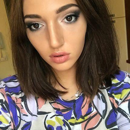 Вечерний макияж, smoky eyes
