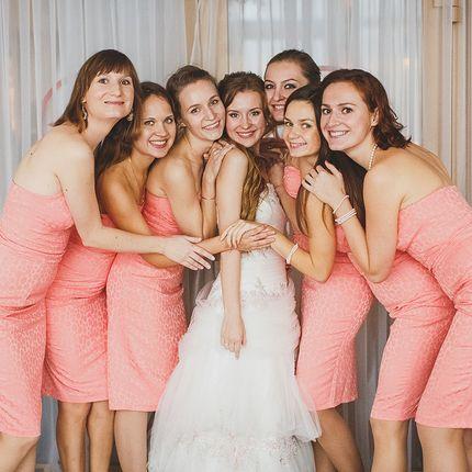 Образ подружек невесты