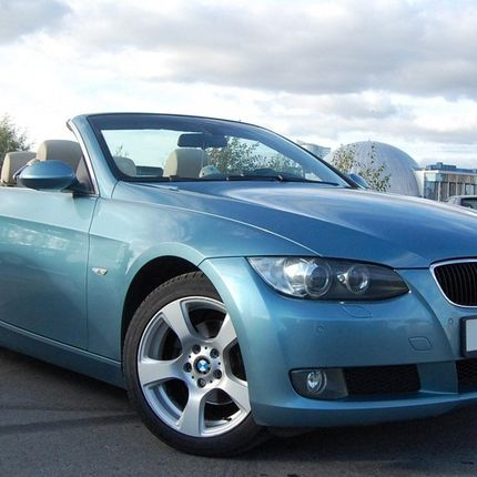 Аренда кабриолета BMW 3-Series Синий, цена за 1 час