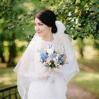 Прекрасная и нежная невеста Анна