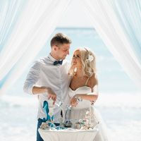 Свадьба в Доминикане на острове Саона