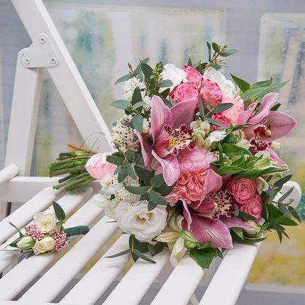 Букет невесты Небесная орхидея