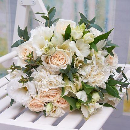 Букет невесты Кремовый флер