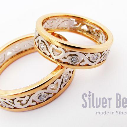 """Обручальные кольца """"Hearts"""""""