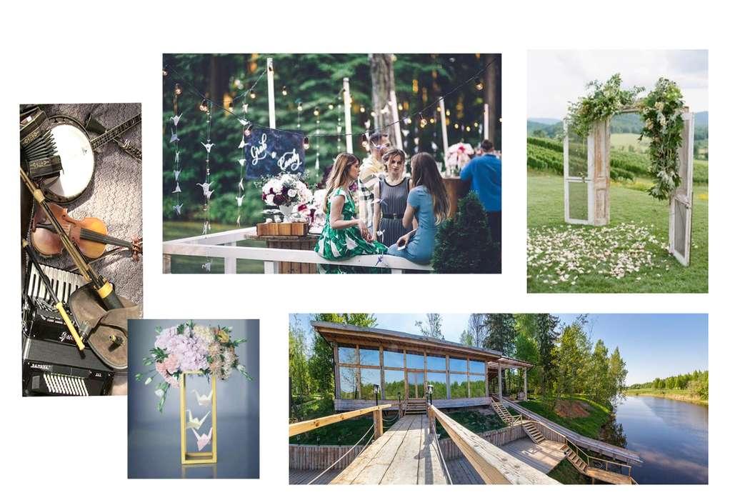 Ждём,ждём, ждём! Совсем скоро состоится свадьба Насти и Сени. Ребята любят естественность, природную красоту и лёгкость. Свадьба будет проходить в красивой усадьбе. Камерное торжество, родные и близкие, тепло и радость. Стиль Рустик, как нельзя лучше впис - фото 14850682 Dream decor - студия декора