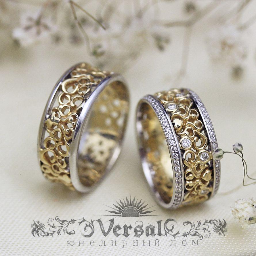 Обручальные кольца, арт. VGOK0080